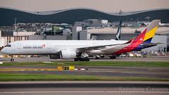 Asiana Airbus A350-941 HL8308 (StephenG88) Tags: londonheathrowairport heathrow lhr egll 27r 27l 9r 9l boeing airbus may19th2019 19519 myrtleavenue renaissanceheathrow asianaairlines asiana oz aar a350 a359 a350900 a350941