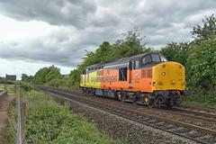 Colas Rail Freight Class 37 37116 (Barry Duffin) Tags: 37116 1z38 derbyrtc nottingham eastcroft colas class37