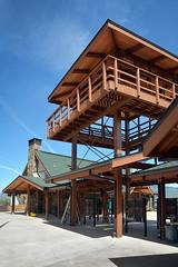 Siskiyou Rest Area Welcome Center (OregonDOT) Tags: oregondot oregon ashland i5 safetyrestarea siskiyouwelcomecenter cascadia lookout newfacility building bluesky