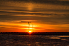 New Today (langdon10) Tags: canada montreal quebec stlawrenceriver sunrise sun