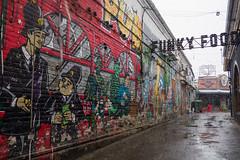 Funky Food (atsubor) Tags: russia krasnodar россия краснодар wall sign bar snow