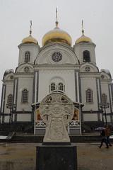 Alexander Nevsky Cathedral (atsubor) Tags: russia krasnodar россия краснодар churches sculpture