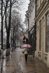 March Snow in Krasnodar (atsubor) Tags: russia krasnodar россия краснодар snow street