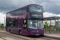 First BW65DCV (Mike McNiven) Tags: first firstmanchester manchester wright eclipse gemini3 hybrid dieselelectric ecohybrid centralmanchester hospitals salelane guideway guidedbus leigh