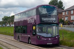 First BL65YZD (Mike McNiven) Tags: first firstmanchester manchester wright eclipse gemini3 hybrid dieselelectric ecohybrid centralmanchester hospitals salelane guideway guidedbus atherton