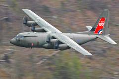 RAF Hercules C-5, LFA17, 18/4/19 (TheSpur8) Tags: uk c130j anationality aircraft date heavy hercules lakedistrict landlocked military lowlevel lfa17 skarbinski 2019 places transport
