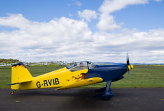 G-RVIB RV-6, Scone (wwshack) Tags: egpt psl perth perthkinross perthairport perthshire rv6 scone sconeairport scotland vans grvib