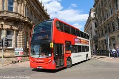 NXWM 4951 SL14 LSE (aptyldsley) Tags: england birmingham unitedkingdom adl enviro400 nationalexpresswestmidlands