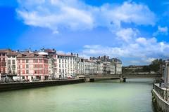 Bayonne les quais de l'Adour (gilles207) Tags: bayonne 64 pyrénéesatlantiques adour quai nag canon 5d ngc