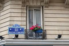PARIS - HOME OF THE BAD GUYS (Maikel L.) Tags: europa europe france francia frankreich paris marais capital hauptstadt strasenschild roadsign street streetsign streetname strasenname mauvaisgarçons badguys ruedesmauvaisgarçons city urban roadname