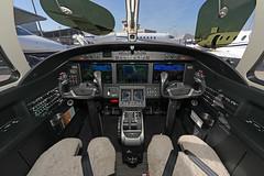 N46LW 230520191 (Tristar1011) Tags: lsgg gva geneva genève cointrin ebace ebace2019 textronaviationinc cessna525b citationjet cj3 c25b n46lw cockpit