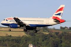 G-EUOC_02 (GH@BHD) Tags: geuoc airbus a319 a319100 a319131 ba baw britishairways speedbird shuttle aircraft aviation airliner unionflag bhd egac belfastcityairport