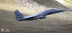 USAF Boeing F-15E Strike Eagle 91-0318 low level in the Lake District (NDSD) Tags: low level boeing f15e strike eagle usaf cumbria flying jet raf lake district plane aviation valley narrow pass