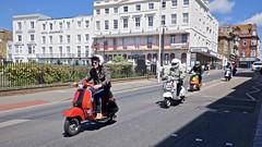 May Bank Holiday, Margate (I M Roberts) Tags: scooters modweekend maybankholiday margate kent fuji x100s