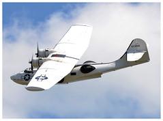 PBY Catalina Miss Pickup (Ciaranchef's photography.) Tags: vintageaeroplanes preservedaeroplanes aviationmuseum aviationphotograph ukaviation duxford iwmduxford nikond7000 nikon nikonaviation tamron150600