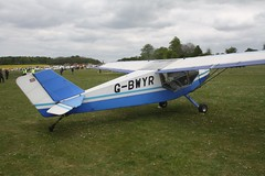 G-BWYR (IndiaEcho) Tags: light england canon airport general aircraft aviation hampshire aeroplane civil popham basingstoke airfield eghp eos fly microlight in 1000d s6 rans gbwyr