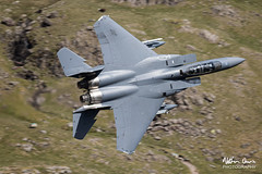 USAF Boeing F-15E Strike Eagle 91-0301 low level in the Lake District (NDSD) Tags: low level boeing f15e strike eagle usaf cumbria flying jet raf lake district plane aviation valley narrow pass