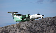Share and share alike (crusader752) Tags: widerøe bombardier dhc dehavillandcanada lnwit bodø
