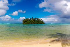 no man is an island (pbuschmann) Tags: island southpacific cookislands muri atoll beach solitude nature planetearth