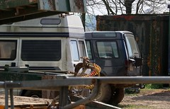 N103 VTF (Nivek.Old.Gold) Tags: 1995 land rover discovery tdi 5door 2495cc talbot express autosleeper camper