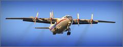 Ukraine Air Alliance Antonov AN-12 BP (UR-CAK) Liverpool John Lennon Airport 28th May 2019 (Cargo flight) (Cassini2008) Tags: ukraineairalliance antonovan12bp liverpooljohnlennonairport urcak wynneaviationservices aviation