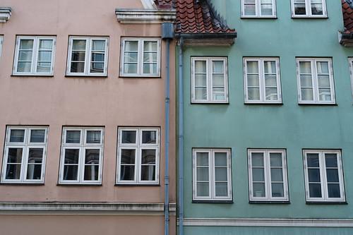 The Colored Buildings of Copenhagen