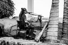 Music at the Marina (eskayfoto) Tags: canon eos 700d t5i rebel canon700d canoneos700d rebelt5i canonrebelt5i sk201902276476editlr sk201902276476 lightroom lanzarote playablanca marinarubicon music musician monochrome mono bw blackandwhite guitar singer sing guitarist performance gig restaurant marina rubicon islascanarias canaryislands tree instrument