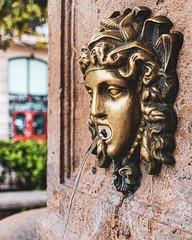 Valencia   |   Spout (JB_1984) Tags: fountain font water face ornament bokeh city urban travel valencia valenciancommunity comunidadvalenciana spain españa nikon d500 nikond500