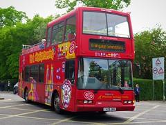 Transdev York - 4011 (T409SMV) - 23-05-19 (peter_b2008) Tags: transdevyork citysightseeing dennis trident eastlancs opentop 4011 t409smv buses coaches transport
