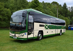 Lothian Country Green Arrow Express Plaxton Leopard Interurban SB19GKL (andyflyer) Tags: