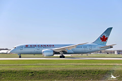 Air Canada Boeing 787-8 Dreamliner (William_YQB) Tags: aircanada plane b7878 dreamliner planespotters boeing montreal