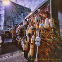 Boston on Pinhole (Paul Swortz) Tags: 50iso e6 analog boston color colorfilm film fujivelvia50 gittogether pinhole slidefilm transparency worldwidepinholeday wwppd