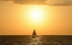 Naples sunset (dina j) Tags: florida floridasunset sunset naples naplesflorida naplessunset sailboat gulfofmexico sun sky vacation nikon nikond7200 outdoors nature landscape