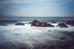 Blue Flow (amymedina.photoart) Tags: california blue art asilomar light sun seascape green nature clouds landscape photography monterey