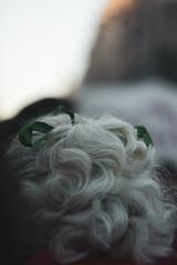 Risitos blancos. (Jazmonpls) Tags: white hair protest march lady niunamenos