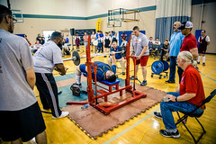 Giving All (rg69olds) Tags: 05242019 5dmk4 canonef24105mmf4lisusm canoneos5dmarkiv nebraska athlete canon omaha people special specialolympics sport volunteer weightlifting bechpress givingall support strength overcoming