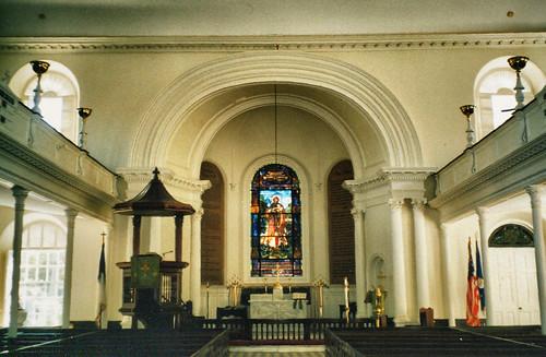 Charleston South Carolina - St. John's Lutheran Church  -  Historic