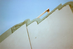 Cosina C1 Whittier Ice Cream Sign (▓▓▒▒░░) Tags: cosina slr japan colorama color uk la los angeles california history bike ride architecture landmark arts analog mechanical classic retro vintage antique 35mm film camera design style artdeco