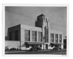 Bell & Howell Building, 716 N. La Brea 3 (▓▓▒▒░░) Tags: la los angeles california history bike ride architecture landmark arts analog mechanical classic retro vintage antique 35mm film camera design style artdeco