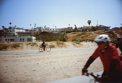 Ricoh R1 Redondo Beach Bike Path 1 (▓▓▒▒░░) Tags: kodak royal gold color la los angeles california history bike ride architecture landmark arts analog mechanical classic retro vintage antique 35mm film camera design style