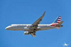 American Airlines Embraer ERJ175LR (William_YQB) Tags: american americanairlines embraer embraer175 plane planespotting montreal yul