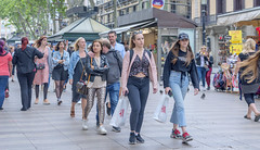 Strolling La Rambla - Explore (May 29th, 2019 - #43) (TQTran) Tags: larambla people pedestrian pedestrians street photo streetphoto barcelona spain