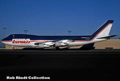 Federal Express B747-249F/SCD N806FT (planepixbyrob) Tags: fedex federalexpress boeing 747 747200 n806ft jumbojet cargo freight lax losangeles retro kodachrome