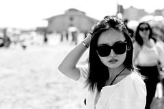 i tried (Litratistica Images NYC) Tags: girl asiangirl blackandwhite beach monochrome beautiful beauty asian coneyisland seaside monochromatic ef70200mmf28lisusm canon5dmk2 streetphotography streetphotographer