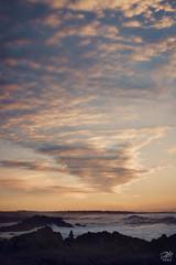 Spinning Sky in Asilomar (amymedina.photoart) Tags: california blue art asilomar light sunset sun seascape nature clouds landscape photography monterey waves vibrant pastel fiery beach rocks coastal shore nautical tidal
