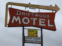 Driftwood Motel (jericl cat) Tags: neon sign driftwood motel arrow colfax denver colorado 2018