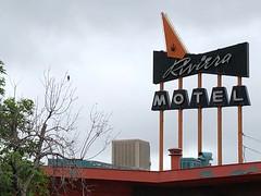 Riviera Motel (jericl cat) Tags: neon sign riviera motel googie colfax denver colorado 2018