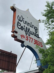 Winning Coiffeurs (jericl cat) Tags: neon sign winning coiffeurs chinese pagoda blank barber salon denver colorado 2018