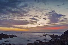 Pastel Asilomar Seascape (amymedina.photoart) Tags: california blue art clouds amymedina light sunset sun seascape beach nature landscape photography rocks vibrant pastel coastal shore nautical tidal fiery
