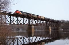 The Flambeau River Crossing (Brian Kays) Tags: ladysmith wisconsin flambeauriver cn